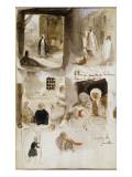 Album d'Afrique du Nord et d'Espagne Reproduction procédé giclée par Eugene Delacroix