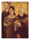 Portrait de famille Reproduction procédé giclée par Suzanne Valadon