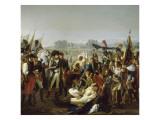 Mort du général Desaix à la bataille de Marengo le 14 juin 1800 Giclee Print by Jean Broc