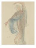 Dansare Gicléetryck av Auguste Rodin