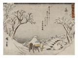 Fujikawa Reproduction procédé giclée par Ando Hiroshige