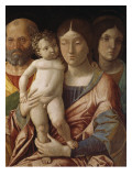 Sainte famille avec une sainte Giclee Print by Andrea Mantegna