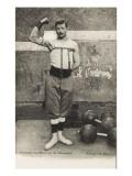 I. Slimen, Le briseur de chaines,  leveur de poids Giclee Print