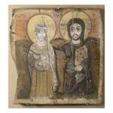 Le Christ et l'abbé Ména Giclée-tryk
