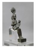 Isis allaitant Harpocrate (Horus enfant) Giclée-tryk