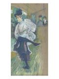 Jane Avril dansant (1868-1943) Lámina giclée por Henri de Toulouse-Lautrec