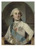 Louis XVI, roi de France et de Navarre (1754-1793) représenté en 1778 Reproduction procédé giclée par Joseph Siffred Duplessis