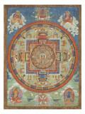 Mandala de Sitâtapatrâ Giclée-vedos