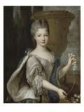Louise-Elisabeth de Bourbon-Condé, princesse de Conti (1695-1775) Reproduction procédé giclée par Pierre Gobert