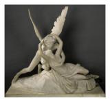 Psyché ranimée par le baiser de l'Amour Reproduction procédé giclée par Antonio Canova