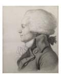 Portrait de Maximilien de Robespierre (1758-1794) Reproduction procédé giclée