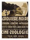 Affiche : La croisière noire, film de l'exposition Citroën-Centre-Afrique Giclée-Druck