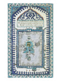 Plaque représentant la Kaaba Giclee-trykk