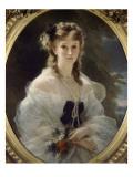 Portrait de la duchesse de Morny, née princesse Troubetzkoï Reproduction procédé giclée par Franz Xaver Winterhalter