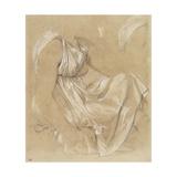 Etude de femme assise Giclée-Druck von Jean-Auguste-Dominique Ingres