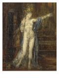 """Salomé dansant dite """"Salomé tatouée"""" Giclée-Druck von Gustave Moreau"""