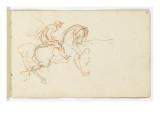 Carnet de dessins Giclée-tryk af Gustave Moreau