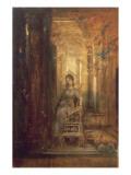 Sainte Cécile Giclee Print by Gustave Moreau