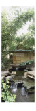 Tea Pavilion, the Museum's Garden Buddhist Pantheon Giclée-Druck