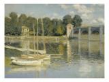 Le pont d'Argenteuil Giclee Print by Claude Monet