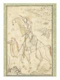 La Harpiste Azadeh à dos de chameau Giclee Print