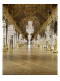 The Hall of Mirrors (State after Restoration in 2007) Reproduction procédé giclée