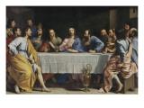Viimeinen ehtoollinen (The Last Supper) Giclée-vedos tekijänä Philippe De Champaigne