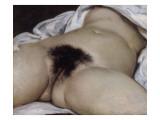 L'Origine du monde Giclee-trykk av Gustave Courbet