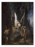 Le Voyageur ou Oedipe voyageur ou l'Egalité devant la mort Giclee Print by Gustave Moreau
