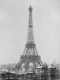 La Tour Eiffel quasiment achevée Giclee Print by Louis-Emile Durandelle