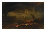 Le Pandemonium (Milton, Paradise Lost) Reproduction procédé giclée par John Martin