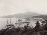 West Indies, View of St. Pierre, Martinique Fotografie-Druck