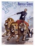 The Lions Nouveau Cirque Lámina giclée por  PAL (Jean de Paleologue)