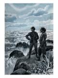 """Jules Verne, """"Hector Servadac"""", Illustration Impressão giclée por Jules Verne"""
