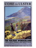 Come to Ulster, Ireland, 1936 Giclee-trykk