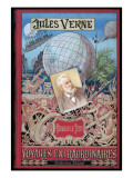 "Jules Verne, Cover of ""Keraban the Inflexible"" Impressão giclée por Jules Verne"