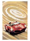24 Heures du Mans Giclee Print by Geo Ham