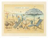 Sports et Jeux I Plakat af Laurence David