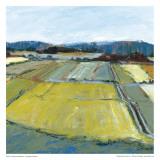 Pastel Landscape IX Poster van Jacques Clement