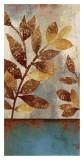 Bronze leaves II Posters av Asia Jensen