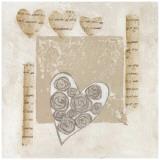 Coeurs et Roses Poster par Véronique Didier-Laurent