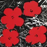 Flowers (Red), c.1964 Kunstdrucke von Andy Warhol