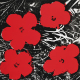 Flowers (Red), c.1964 Láminas por Andy Warhol