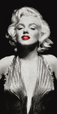 Marilyn in Evening Dress Posters