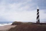 Cape Hatteras Light Posters par David Knowlton