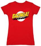 Juniors: The Big Bang Theory - Bazinga Tシャツ