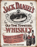 Jack Daniels - Sippin Whiskey Blikskilt