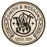 Smith & Wesson - Round Plaque en métal