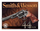 S&W - 44 Magnum Plaque en métal