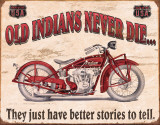 Indian - Better Stories Blechschild